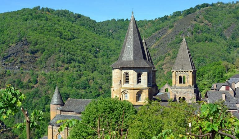 Conques - Village Aveyron