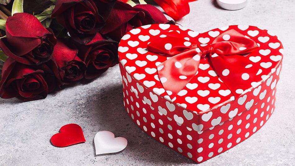 boîte chocolat coeur