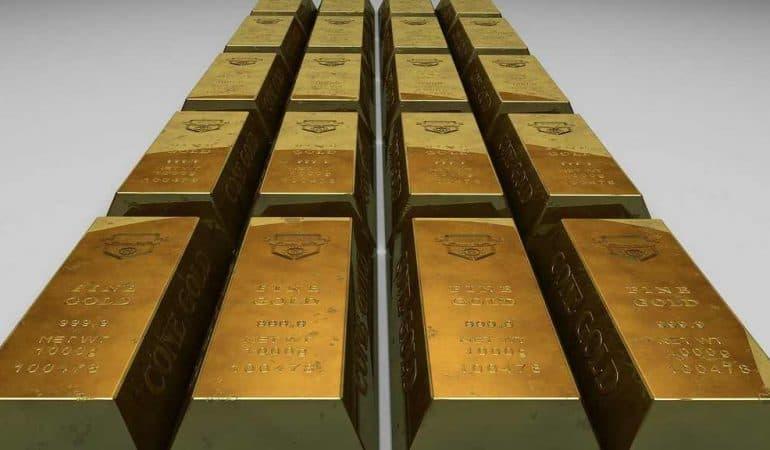 Le lingot d'or de 500 grammes