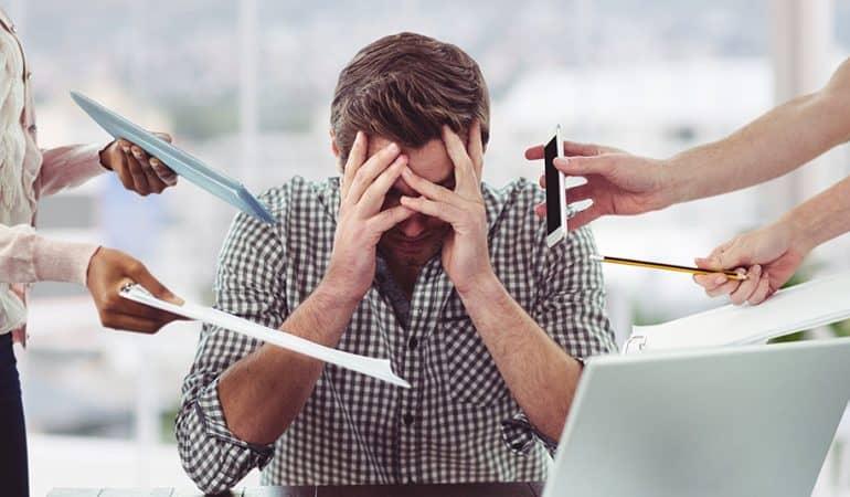 Mauvais stress en entreprise